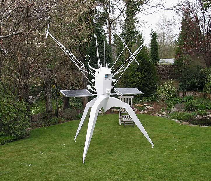 Robotic Sculptures Are Surveillance Cameras in Disguise