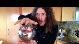 Whoa, Weird Al's Mysterious Floating Orb Magic Trick Is Pretty Cool