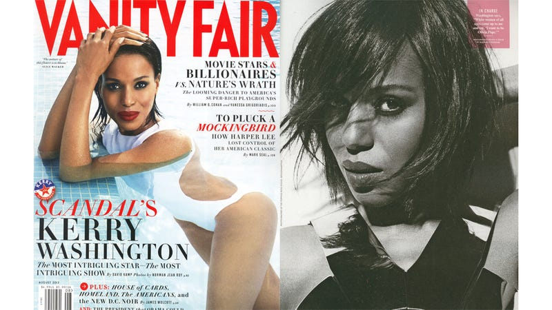 Kerry Washington's Vanity Fair Cover Is Hot (and a Big Deal)