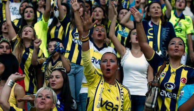 Turkey Makes Soccer Games Less Drunk, Angry, Riotous By Banning Male Fans