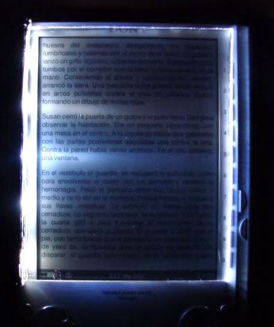 Make an LED Ereader Light Overlay to See Your Ebooks at Night
