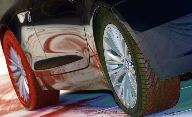 2010 BMW Z4 Plays With Paint In Massive Art Piece