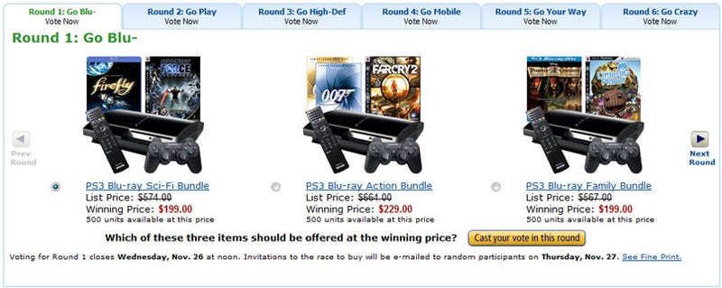 Amazon - What's Your Favorite $199 PS3 Bundle?
