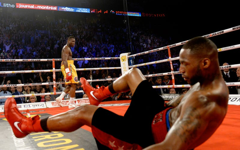 Adonis Stevenson Knocks Out Chad Dawson In One Minute With One Punch