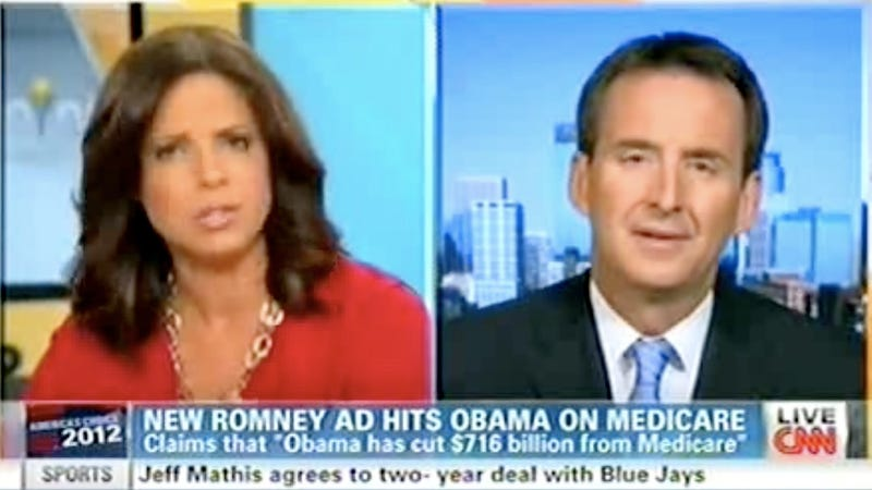 Tim Pawlenty, Frustrated at Soledad O'Brien's Rhetorical Prowess, Suggests She Doesn't Understand English