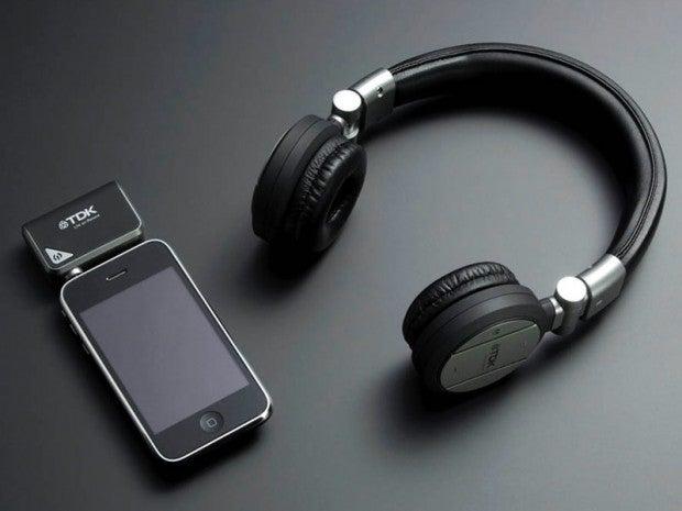 TDK Wireless Headphones Don't Trust Bluetooth One Bit