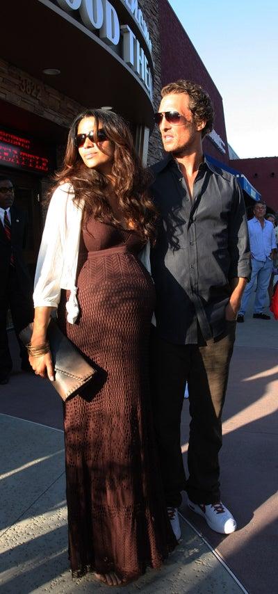 Matthew McConaughey & Camilla Alves See The Light