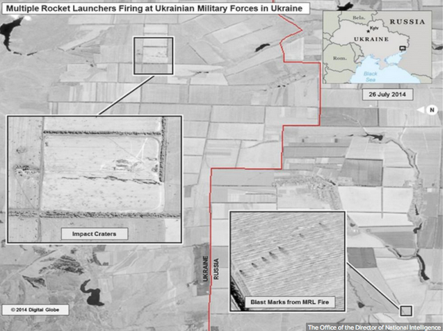 U.S. Officials: Images Prove Russia Fired Into Ukraine