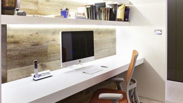 A Spacious Office in the Wall