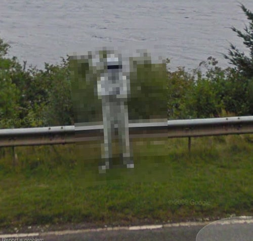 Google Double-Censors Loch Ness Stig