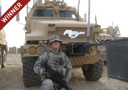 "US Soldier In Iraq Wins ""Mustang Stories"" Contest, 2010 Ford Mustang"