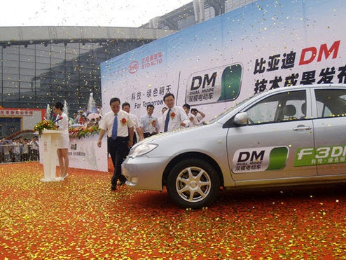 Chinese BYD Hybrid Coming This Year, With Quick Charging System