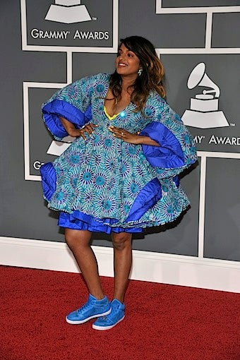 Pregnant M.I.A. Hero of Grammys