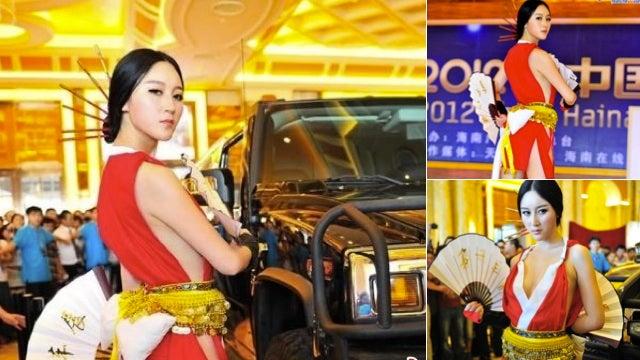 Mai Shiranui Can Sure Sell Cars
