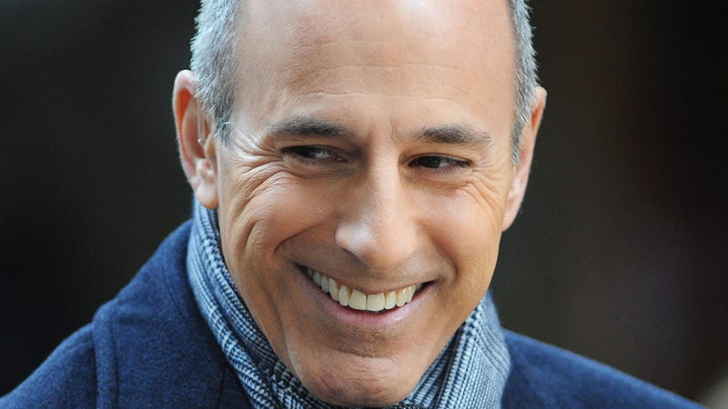 Matt Lauer Might Just Say Fuck It and Host a Game Show
