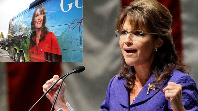 It's All Happening: Sarah Palin Launching National Bus Tour