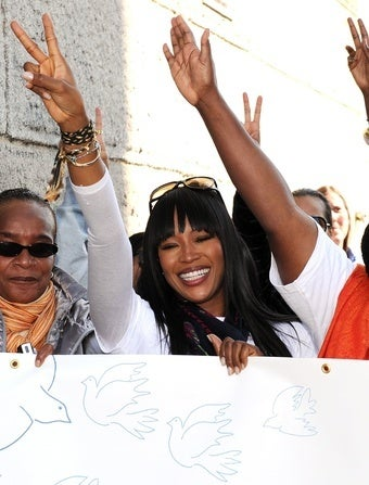 Naomi Campbell Is Too 'Mature' to Keep Beating People