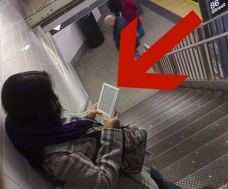 A real live Kindle user