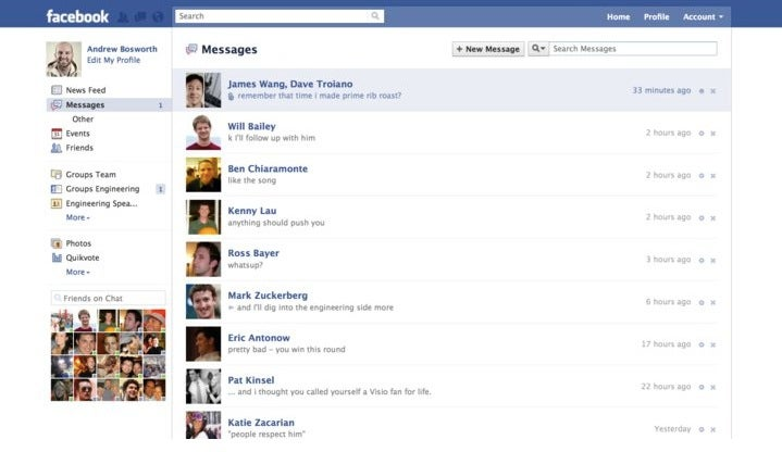 Facebook Unveils a New Messaging System with One Inbox to Rule Them All
