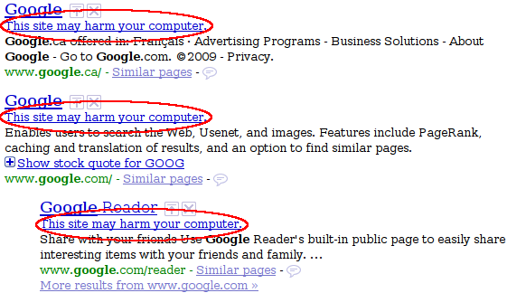 "Google Marked Every Site as ""Harmful"" This Morning"