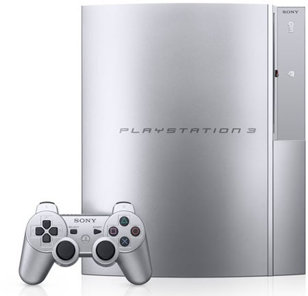 PS3 Gets Satin Silver Makeover in Japan
