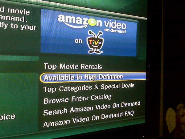 Amazon HD Streaming Spotted on TiVo