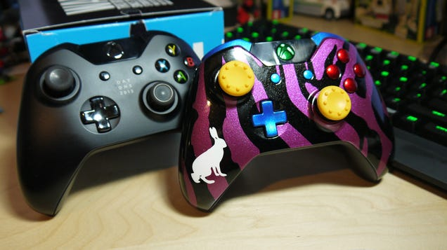 I Designed The Most Hideous Xbox One Controller
