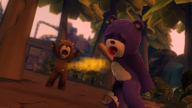 Naughty Bear Screens Just As Creepy As The Trailer
