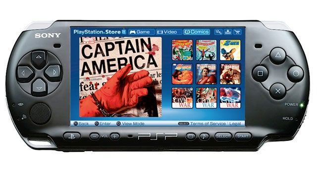 Rest In Peace, Digital Comics for PSP
