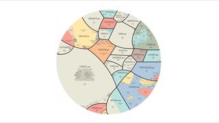 Los idiomas que dominan el mundo, en una completa infografía