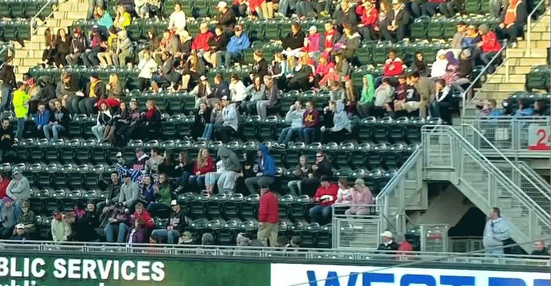 Twins Fan Gives Finger To Little Girl Who Won't Throw Back HR Ball [Update]