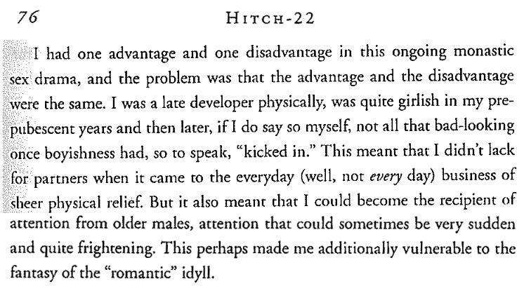 Christopher Hitchens' Gay Prep School Sex a Window into Horny Teenage Bicuriosity