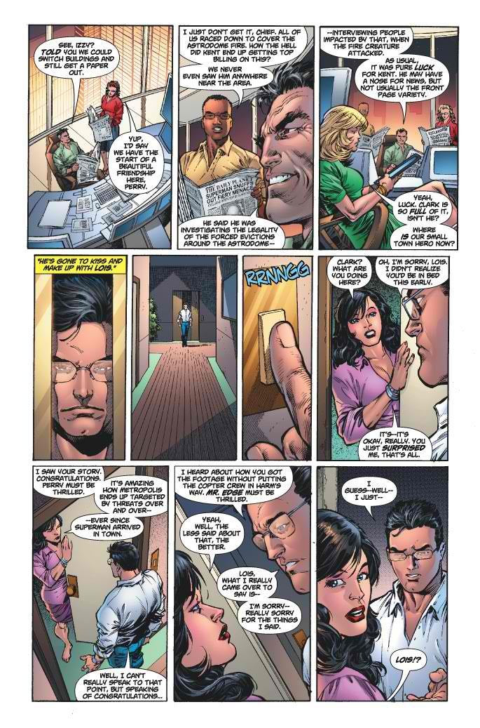 Meet Lois Lane's new douchebag boyfriend, Jonathan Carroll