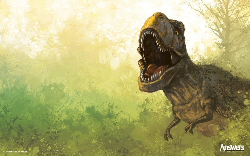 These Ferocious Dinosaur Wallpapers Will Rampage on Your Desktop
