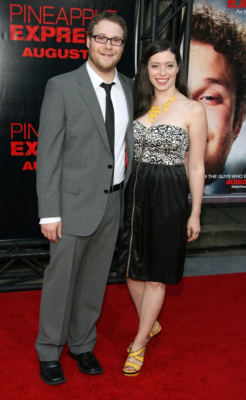 Everyone Looks Awful, Has Fun At Pineapple Express Premiere