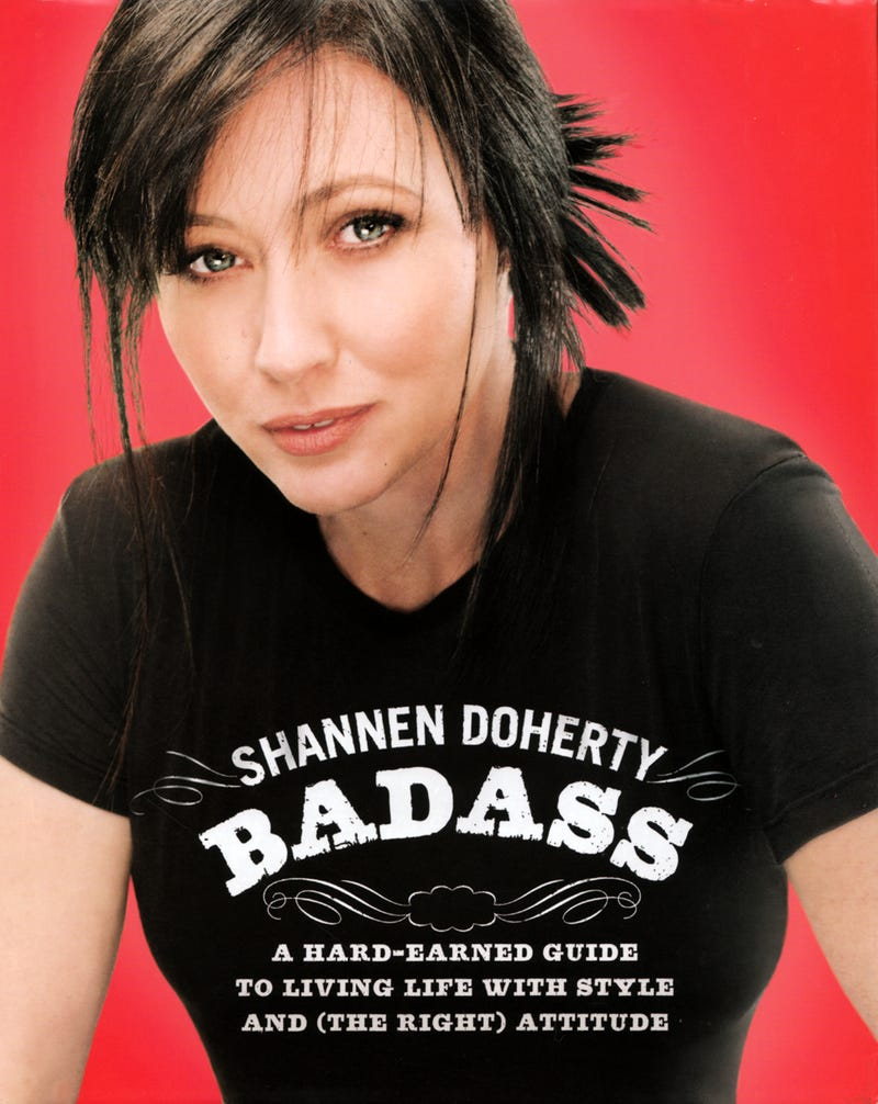 Highlights From Shannen Doherty's Vanity Project/Self-Help Book