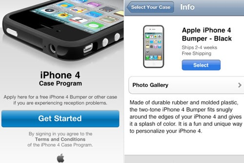 iPhone 4 Case Program Lets You Pick and Ship Your Free Case from Apple