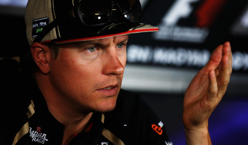 Why Eccentric Mumbler Kimi Raikkonen Is Your Favorite F1 Driver