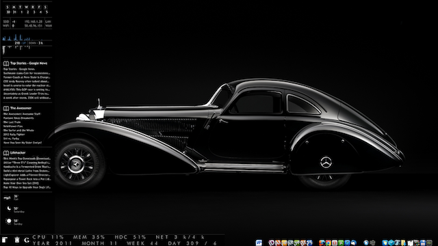 The Dual Monochrome Desktop