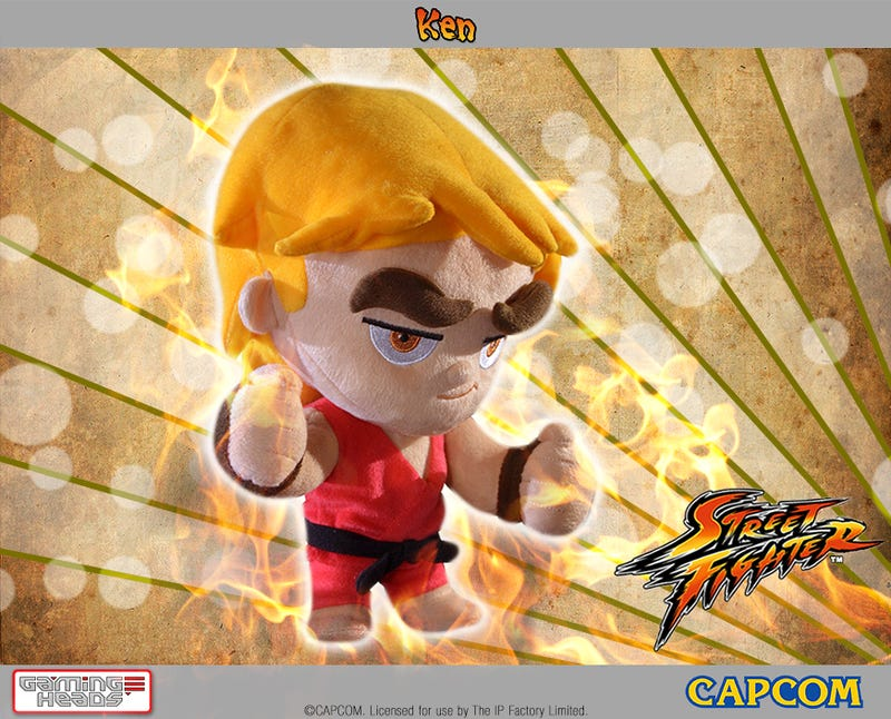 Poseable Street Fighter Plushies Have Some Epic Eyebrows