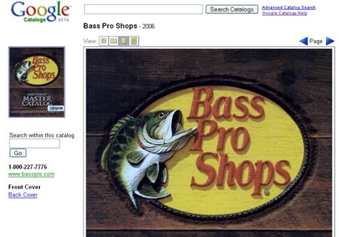 Google School: Search a catalog