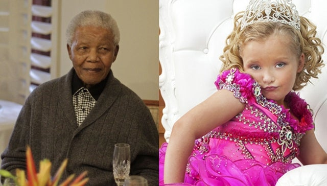 Today In Sentences You Never Thought You'd Read: Nelson Mandela Is a Fan of Toddlers and Tiaras