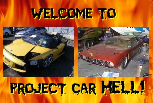 PCH, Don't Settle For Imitation Lambos Edition: Wrecked Murcielago or Long-Dormant Espada?