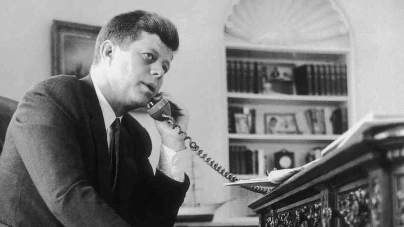 Here's Rare Audio Of JFK Bitching About The U.S. Hockey Team