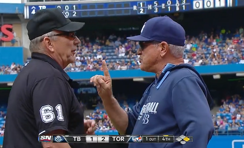 Rays Play Game Under Protest After Late Challenge Overturns Safe Call
