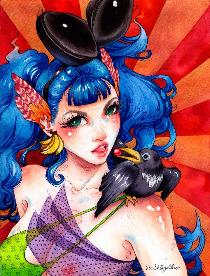 The Fantastical Pinup Girls of Danni Shinya Luo [NSFW]