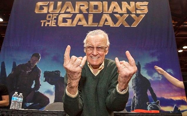 Disney Forbade Stan Lee's Original Guardians Of The Galaxy Cameo