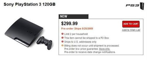 Sony, GameStop Indicate PS3 Slim Available In U.S. Before September
