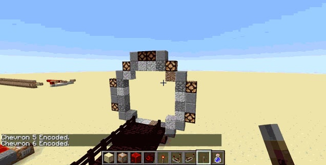 Here's A Fully Functional Stargate In Minecraft