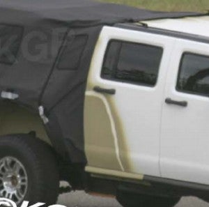Spy Photos: Hummer H3 SUT